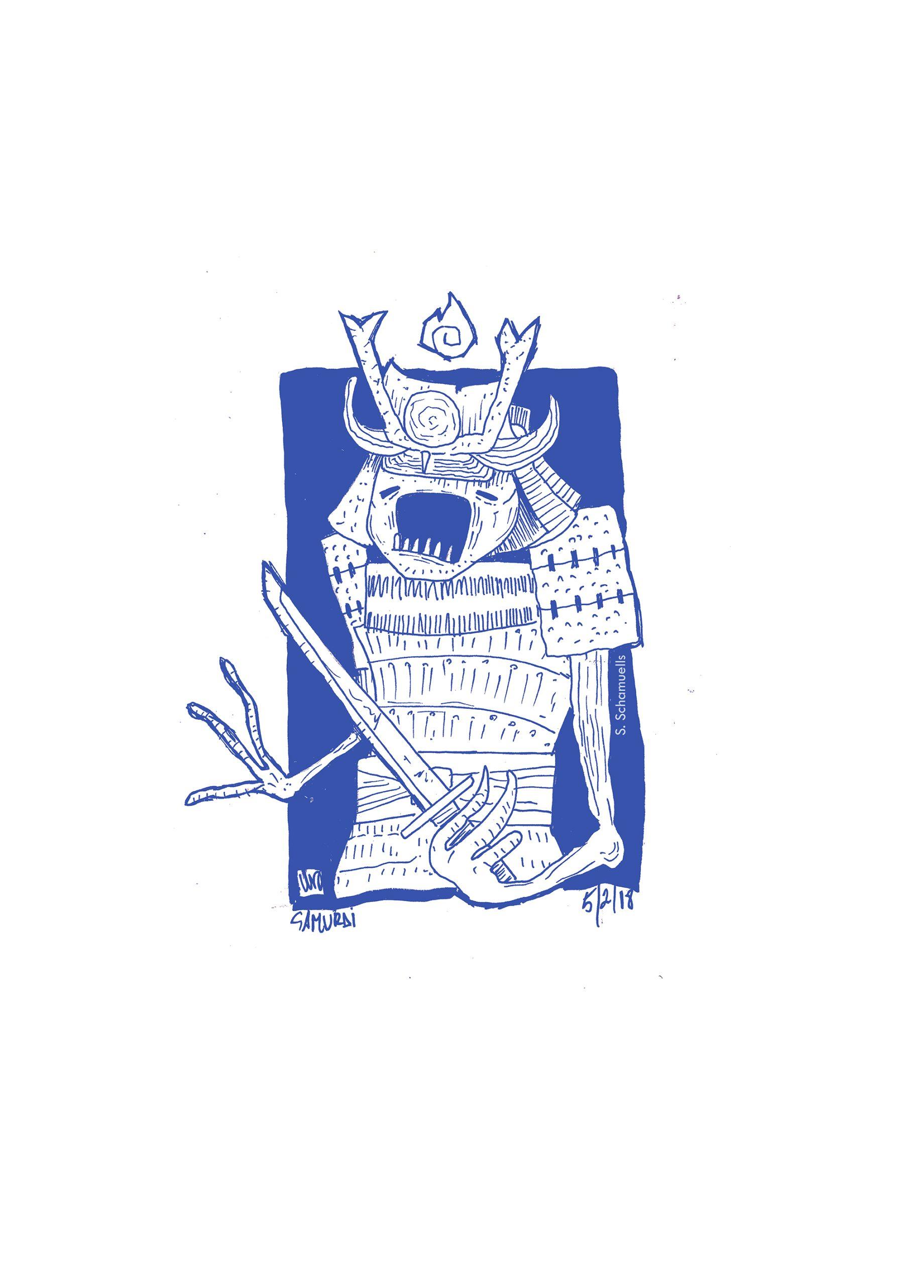 samuai blue