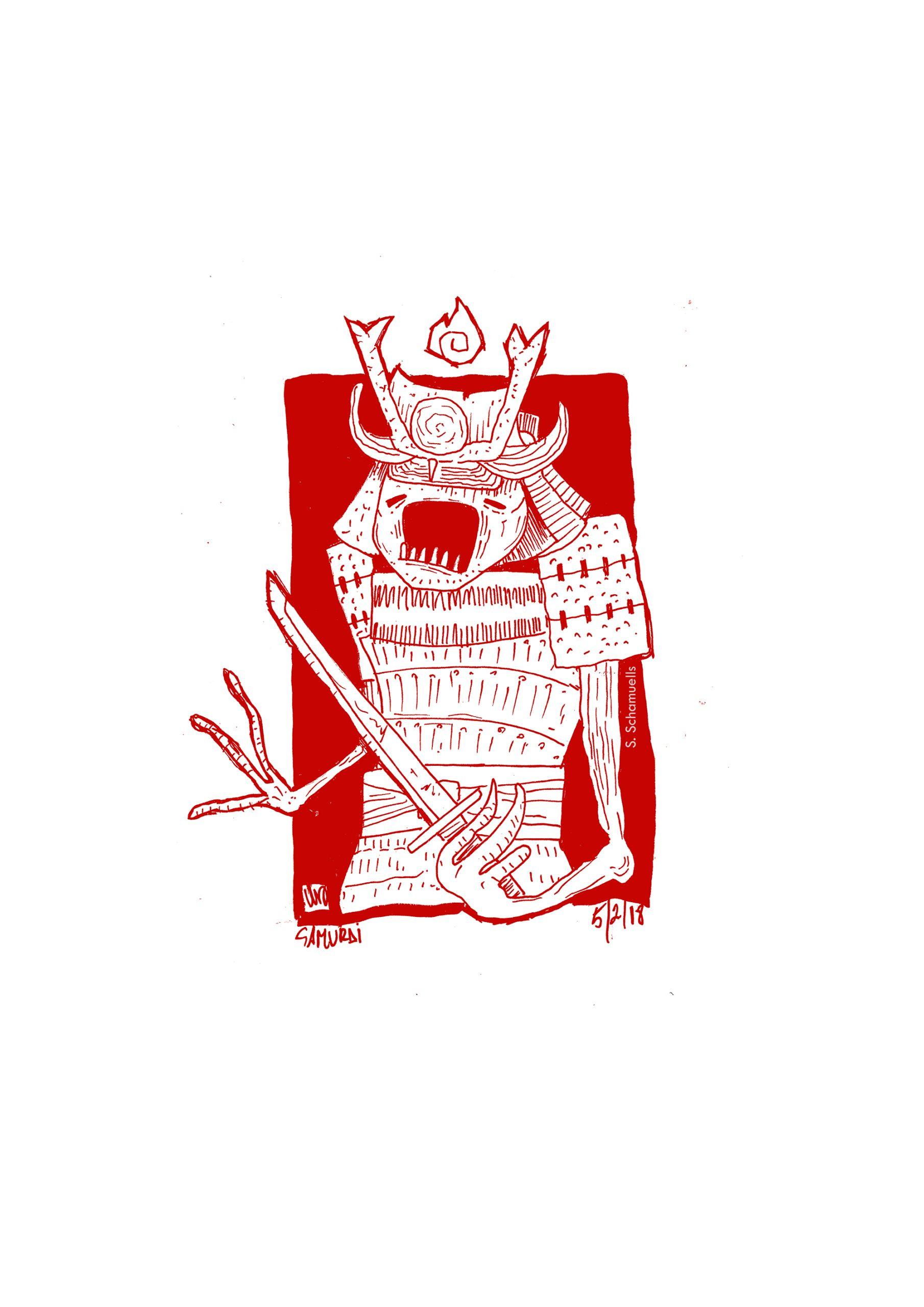 samurai sangre
